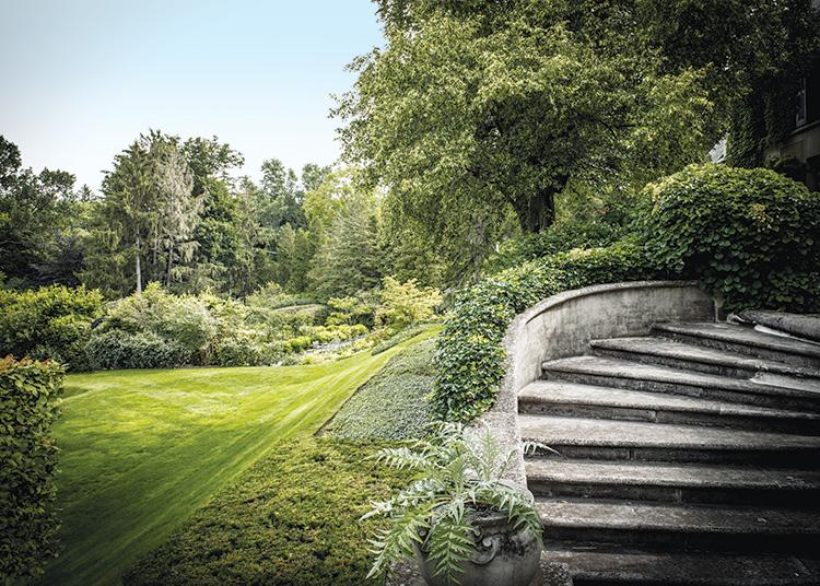 Gardens That Beckon - Staircase