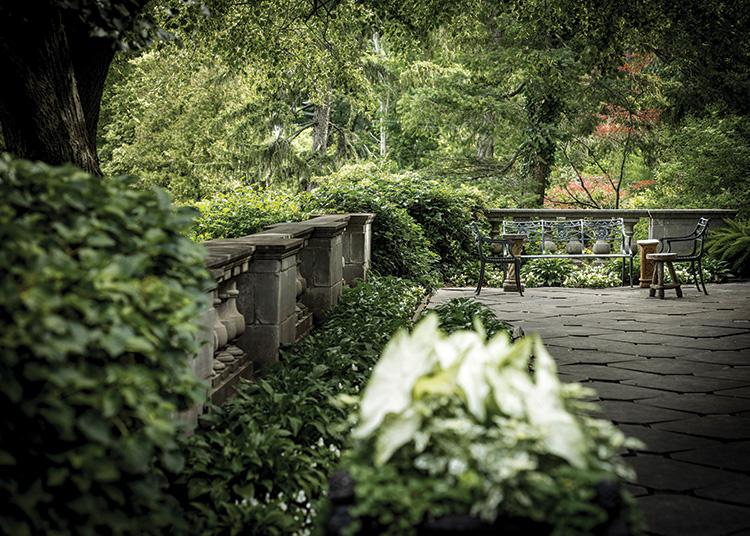 Gardens That Beckon - Terrace