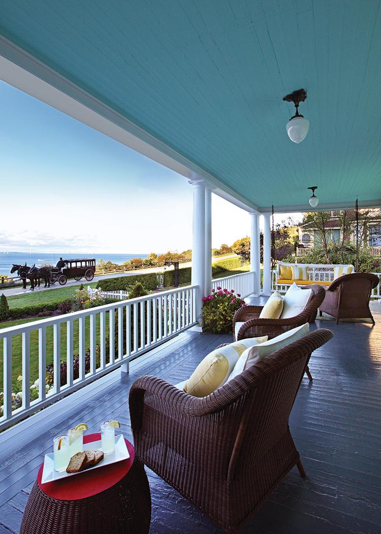 Island Living - Porch Ceiling