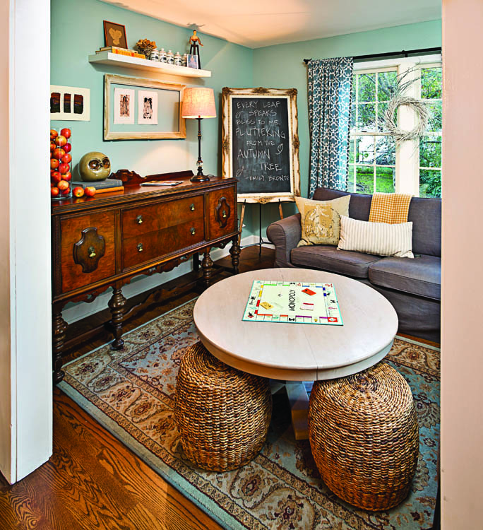 Old House New Life - Wicker Stools