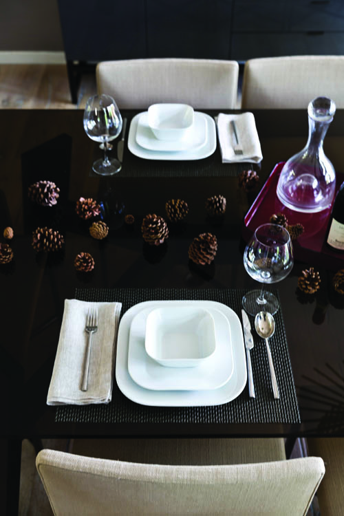 Cooking Up Modern - Tablescape