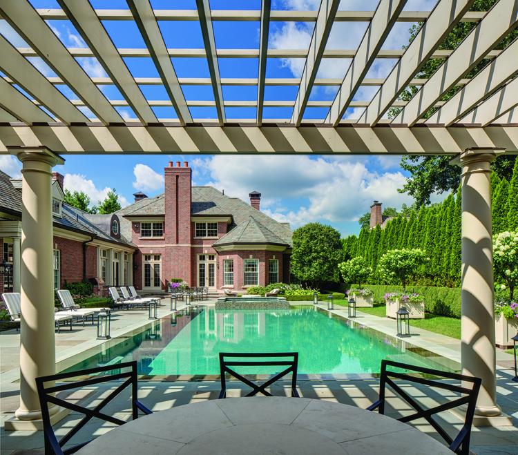 A Classic Splash - Pool House