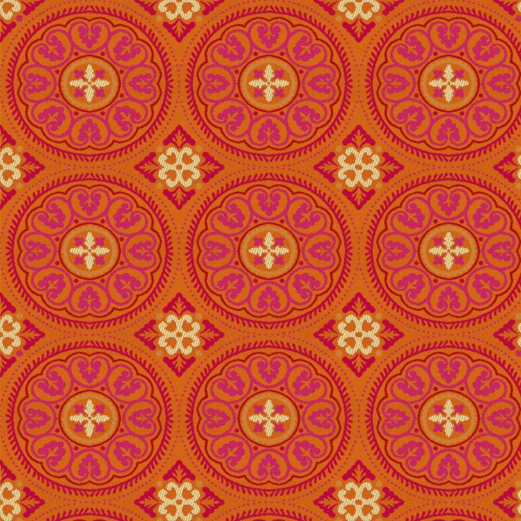 "Sunbrella ""Zara Sunset"" indoor/outdoor fabric"