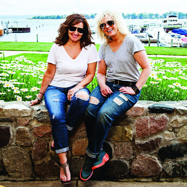 Sharon Kory and Janet Vallee