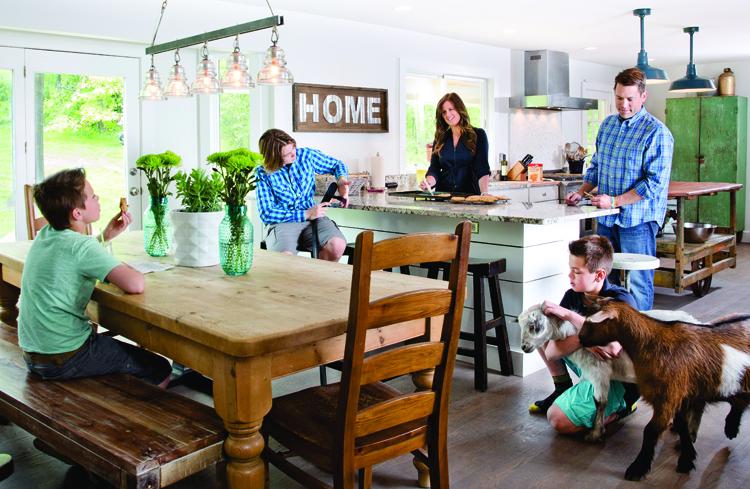 Farmhouse Flair - Kitchen