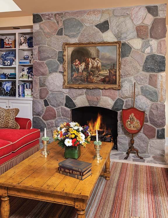 Refreshing a Classic - Fireplace