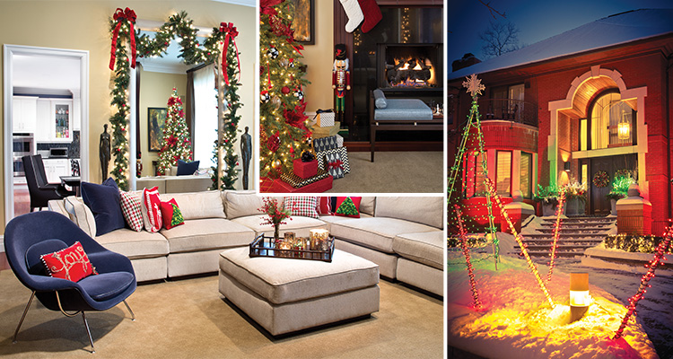Deck the Halls - Collage