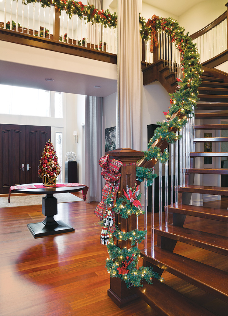 Deck the Halls - Staircase