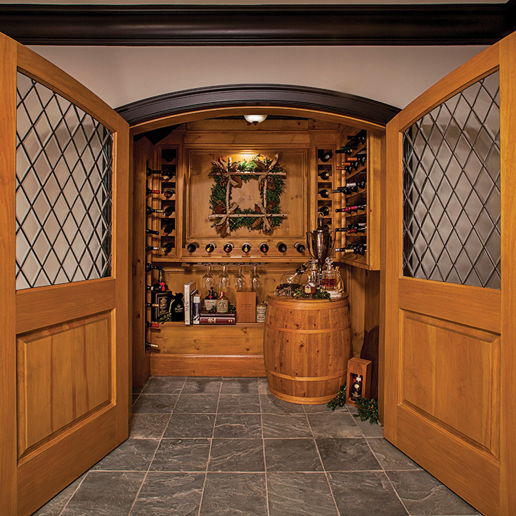 Townhome Tidings - Wine Cellar