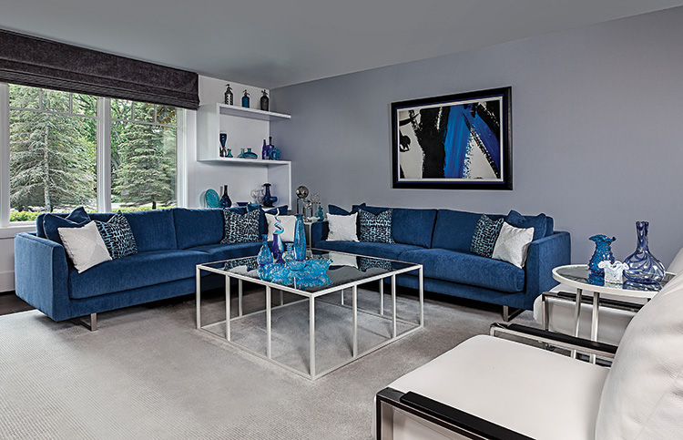 Into the Blue - Living Room