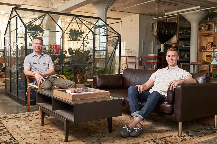 Derek Smiertka and Chad Ackley