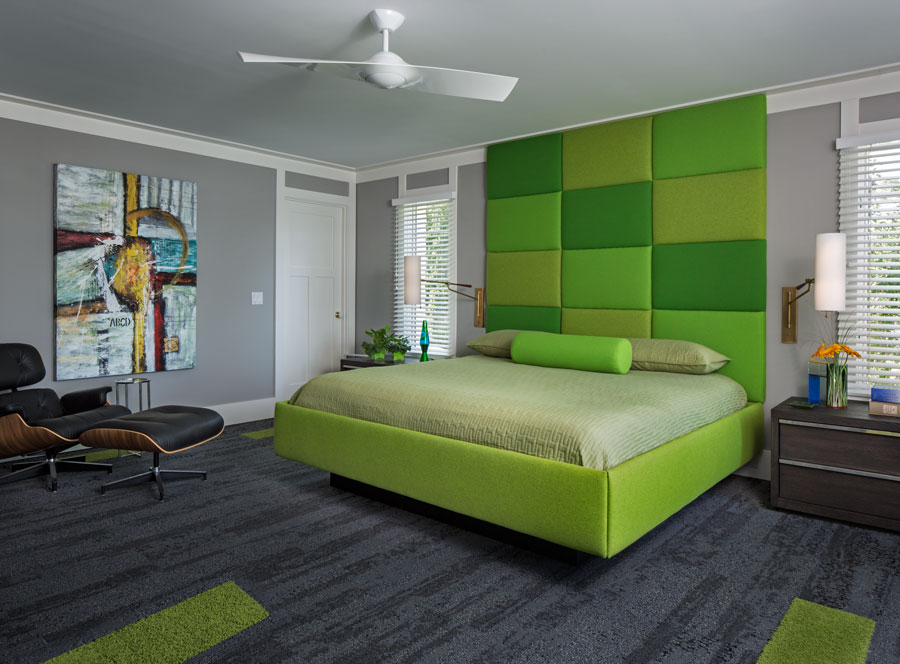 Color His World - Master Bedroom