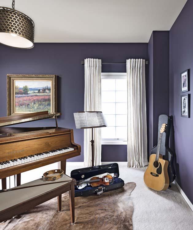 Rhapsody in Blue - Music Room