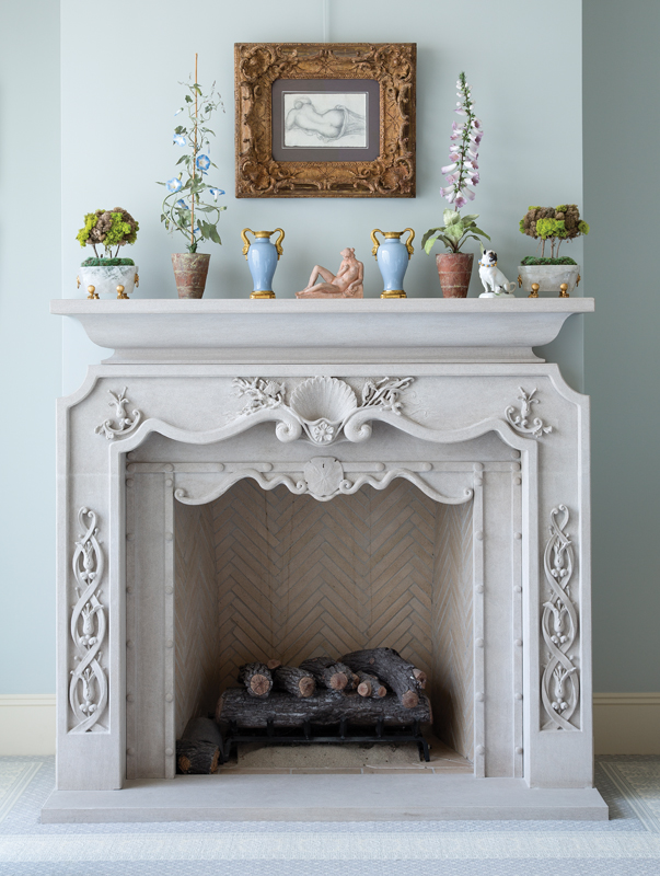Stone Art Studios Fireplace