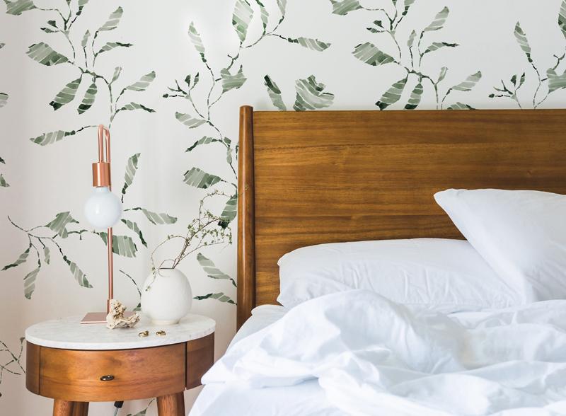 Vining Moss Wallpaper - Kelly Ventura Wallpaper