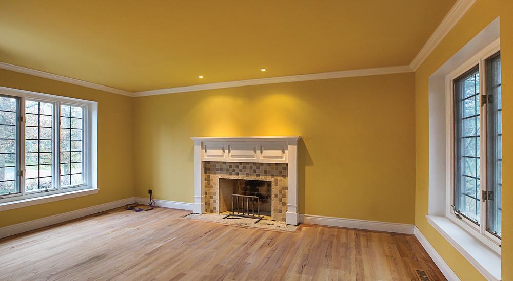 Ann Arbor Living Room Before