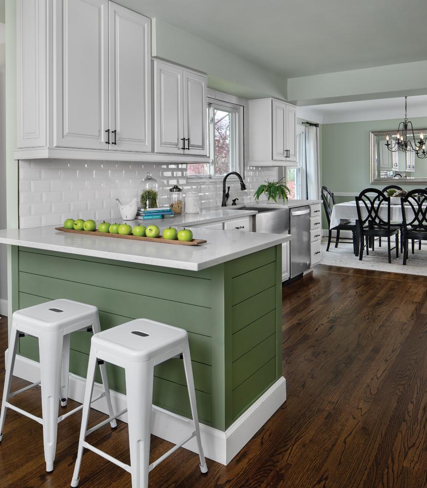 Aldgate Kitchen- After designed by Marnie Weidman
