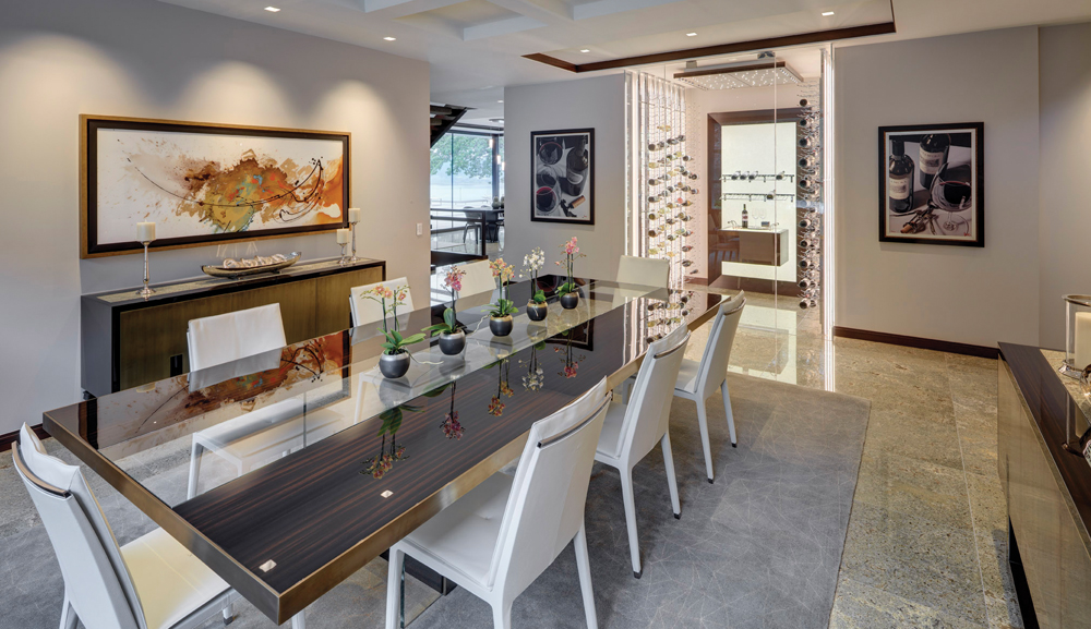 2020 Detroit Design Awards - Contemporary Dining Room - 3rd Place