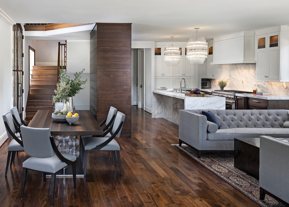 2020 Detroit Design Awards - Contemporary Interior Design (More than One Room) - 3rd Place