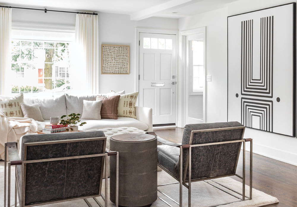 2020 Detroit Design Awards - Contemporary Living Room/Great Room - 3rd Place