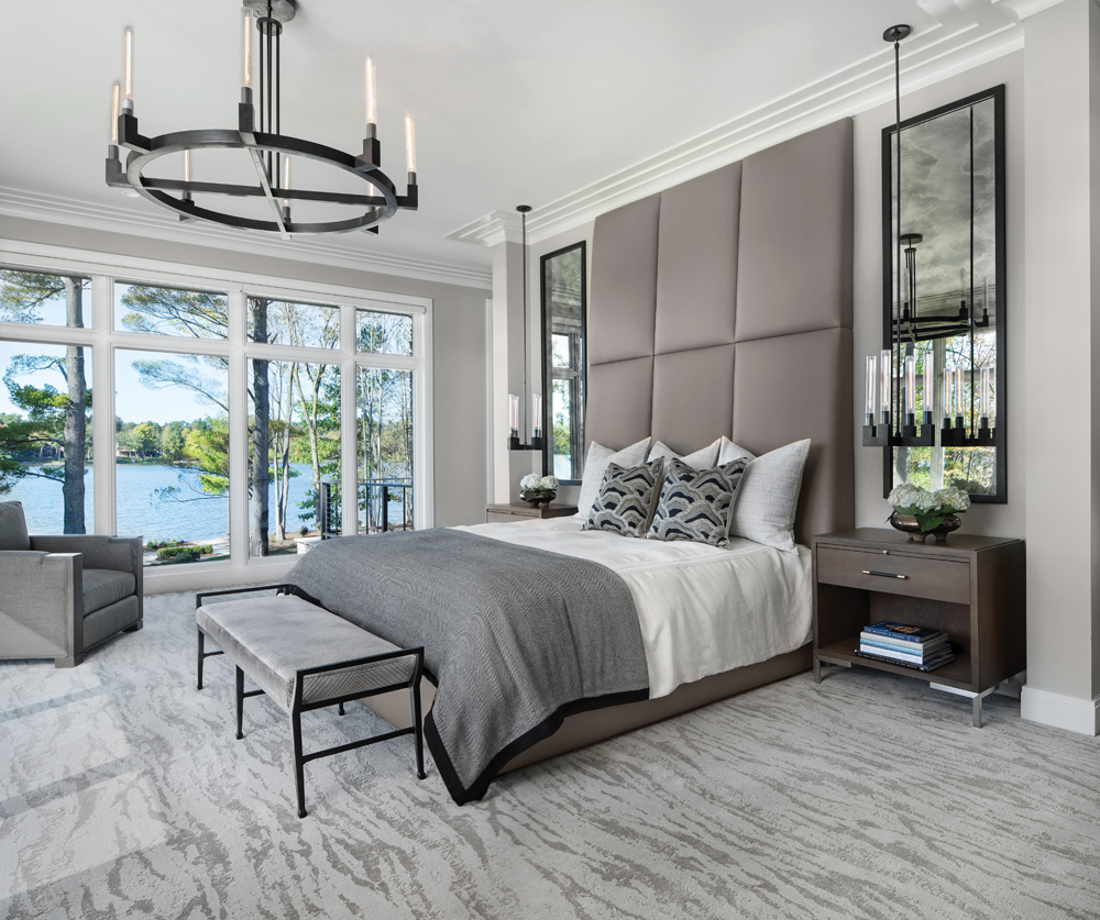 2020 Detroit Design Awards - Contemporary Master Suite - 1st Place