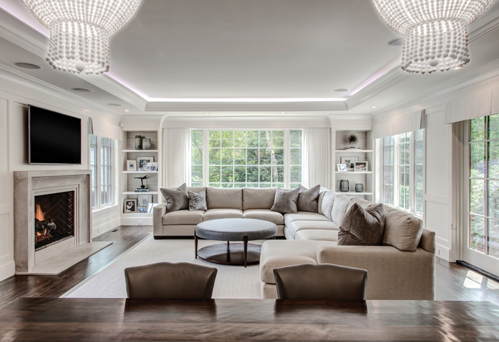 Heller and Associates with Carrie Long Interiors - Photography by Mike Kline