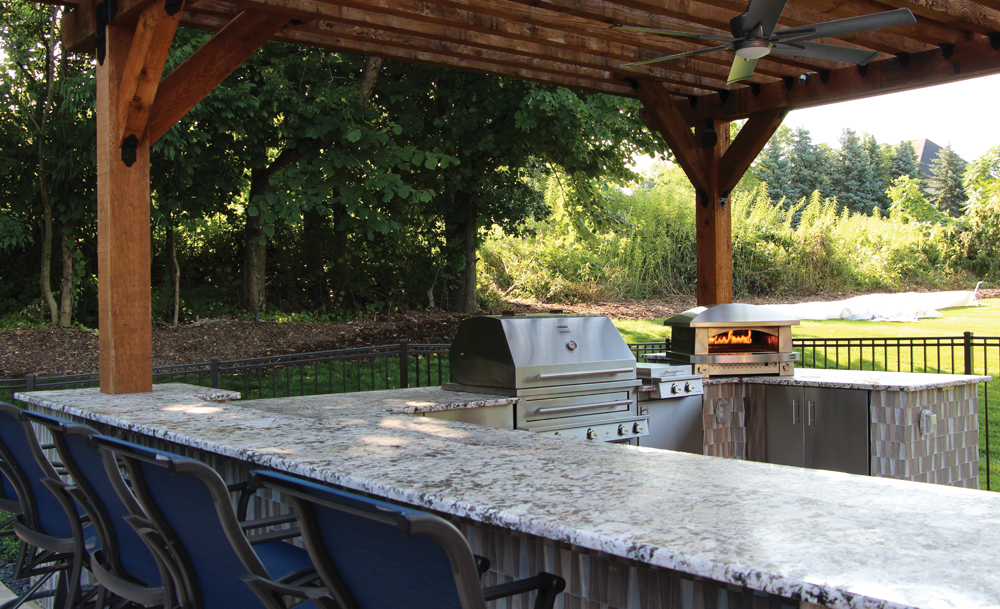 Outdoor Kitchen - 2nd Place