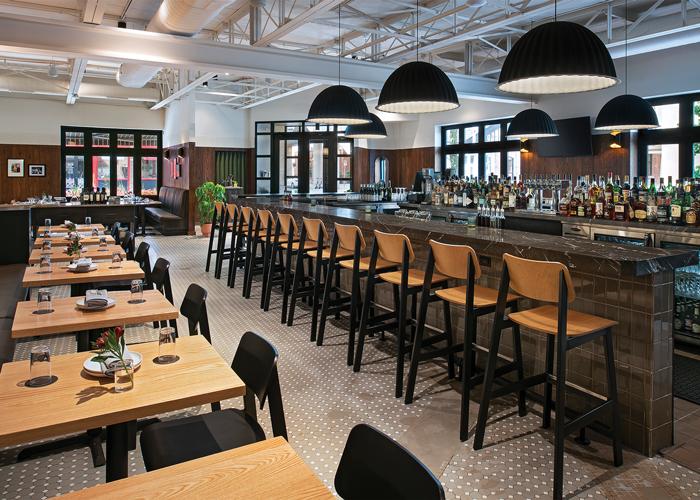 Patrick Thompson Design Friend Associate Restaurant Detroit