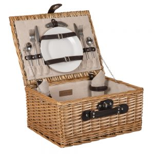 The Classic Woven Picnic Basket