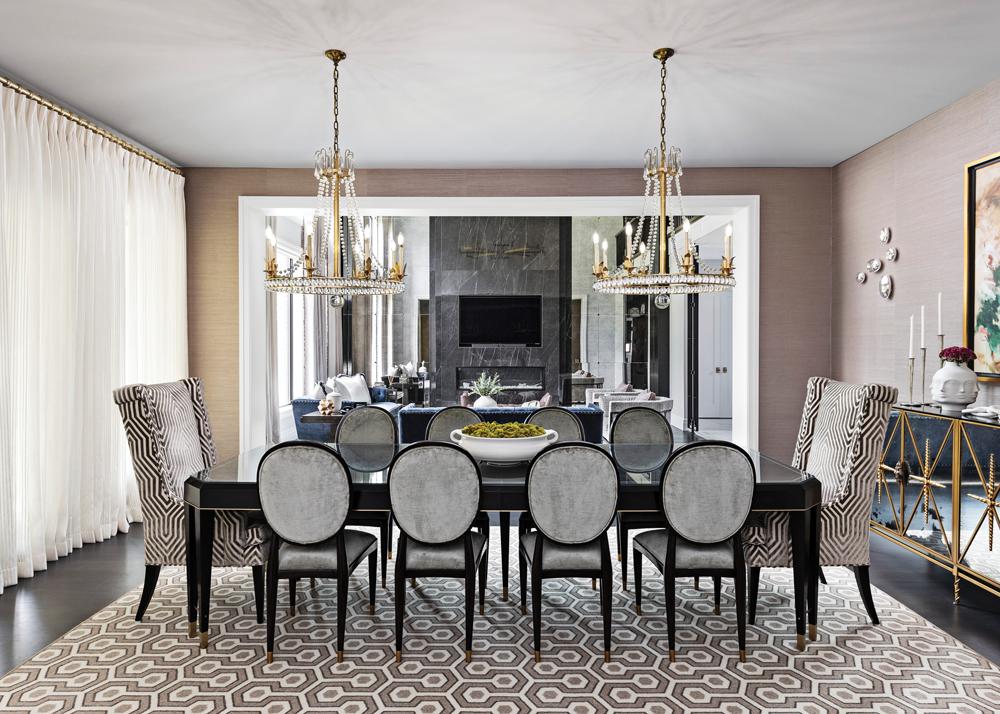 2021 DDA: Interiors - Contemporary Dining Room - 1st Place