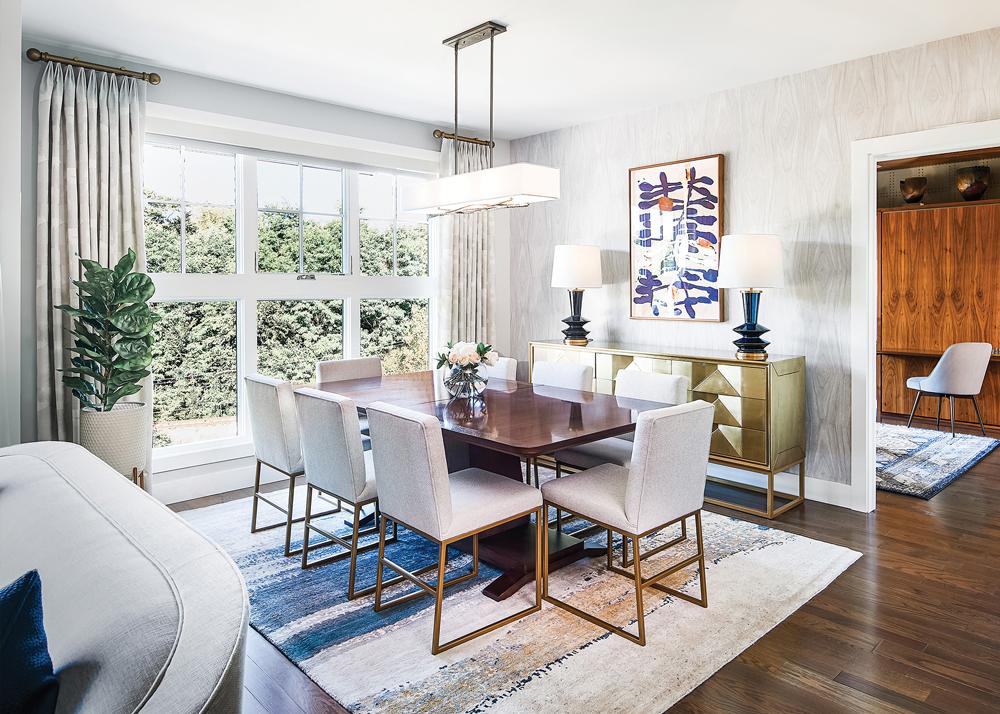 2021 DDA: Interiors - Contemporary Dining Room - 2nd Place
