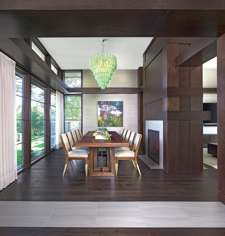 2021 DDA: Interiors - Contemporary Dining Room - 3rd Place