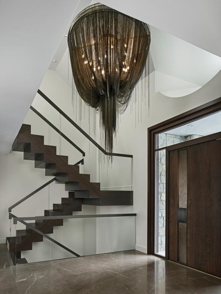 2021 DDA: Interiors - Contemporary Foyer - 1st Place