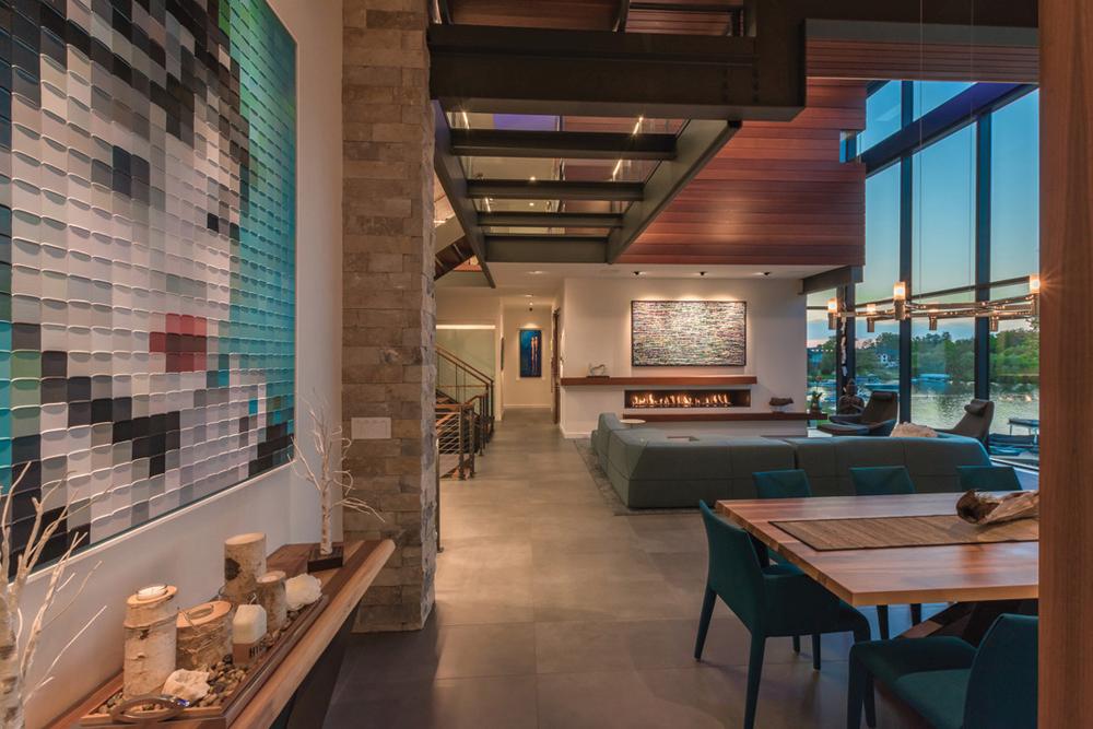2021 DDA: Interiors - Contemporary Interior Design (More Than One Room) - 3rd Place