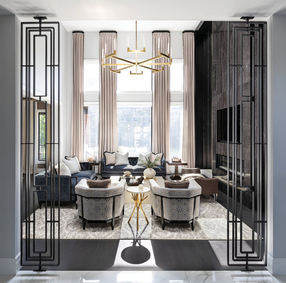 2021 DDA: Interiors - Contemporary Living Room/Great Room - 1st Place