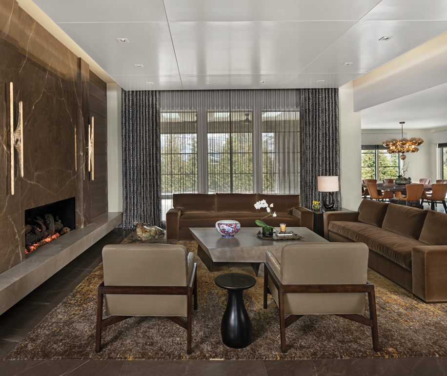 2021 DDA: Interiors - Contemporary Living Room/Great Room - 3rd Place