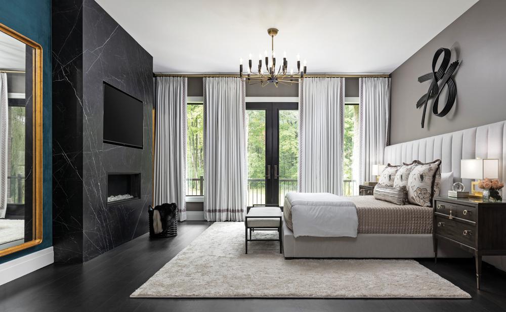 2021 DDA: Interiors - Contemporary Master Suite - 1st Place