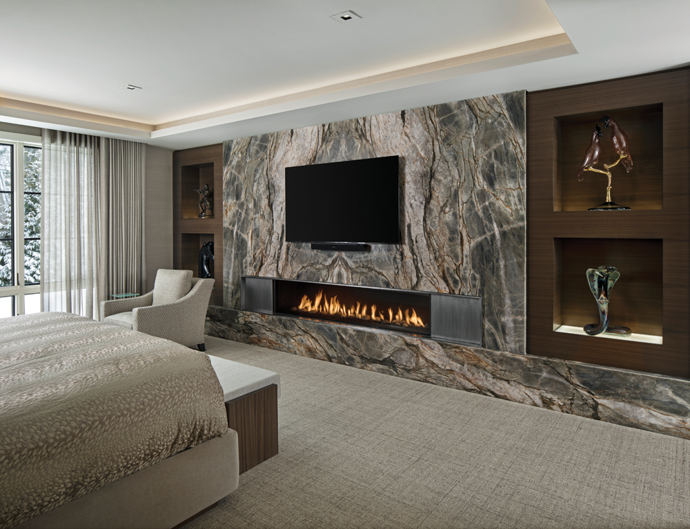 2021 DDA: Interiors - Contemporary Master Suite - 2nd Place