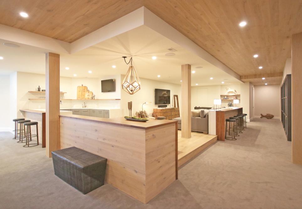 2021 DDA: Interiors - Finished Basement - 1st Place