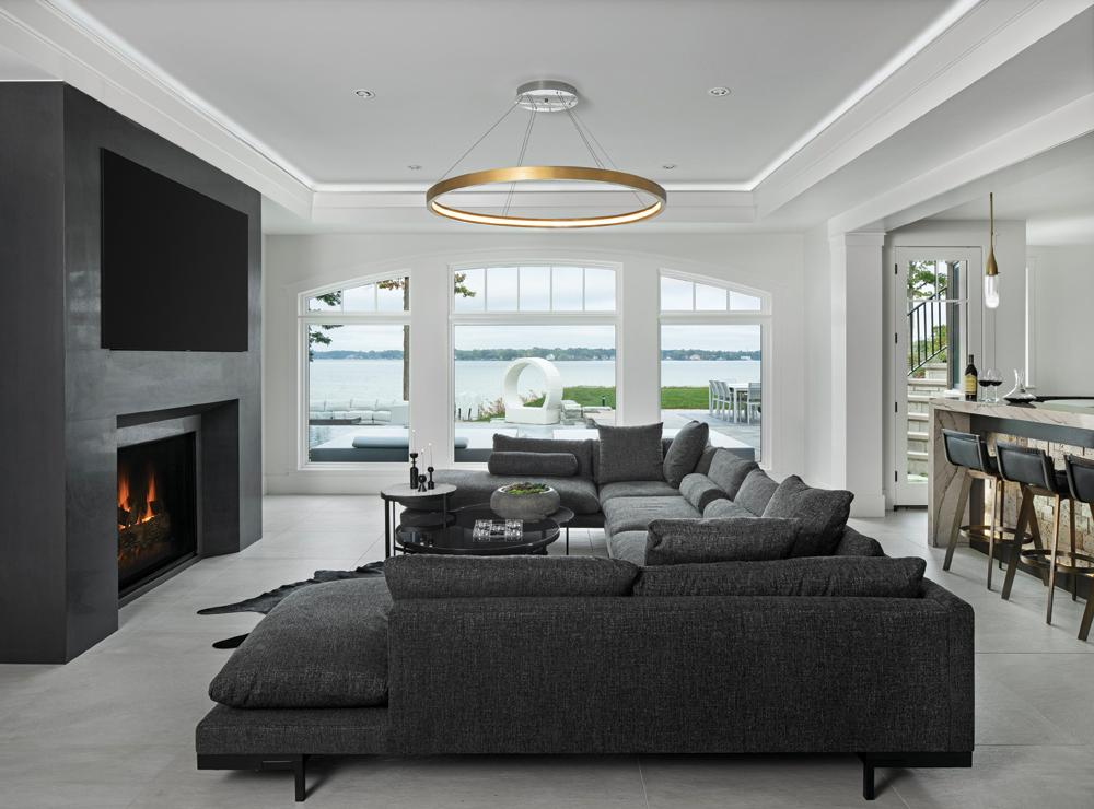 2021 DDA: Interiors - Finished Basement - 3rd Place