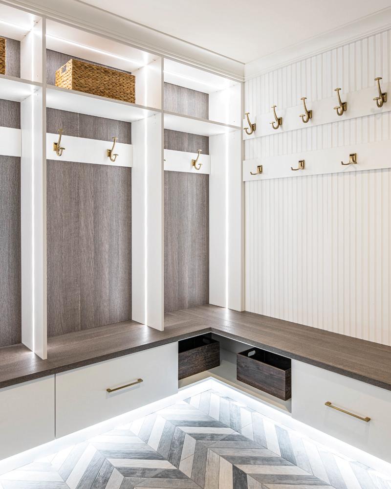2021 DDA: Interiors - Laundry Room/Mud Room - 1st Place