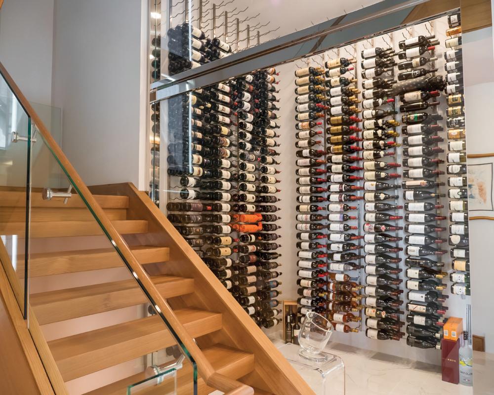 2021 DDA: Interiors - Wine Room - 1st Place